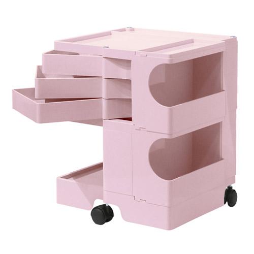 ■ 正規輸入品 BOBY WAGON 2×3 TENDER ROSE (ボビーワゴン 2段3トレイ テンダーローズ) 【送料無料】