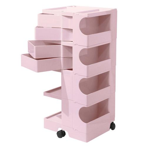 正規輸入品 BOBY WAGON 4×4 TENDER ROSE (ボビーワゴン 4段4トレイ テンダーローズ) 【送料無料】