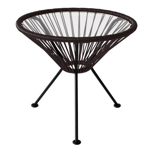 ■ ACAPULCO SIDE TABLE BLACK (アカプルコ サイド テーブル ブラック) 【送料無料】