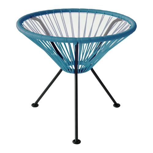 ■ ACAPULCO SIDE TABLE PETRO BLUE (アカプルコ サイド テーブル ペトロブルー) 【送料無料】