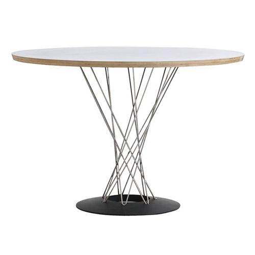 ■ CYCLONE TABLE WHITE×NATURAL (サイクロン テーブル ホワイト×ナチュラル) 【送料無料】