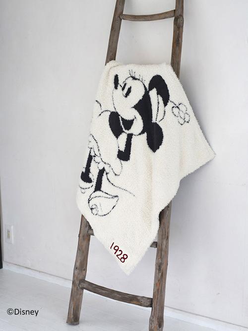 国内正規品 セール 特集 ディズニーコラボ BAREFOOT DREAMS ベアフットドリームス Minnie Mouse Baby Blanket 子供用 ベアフット ミニーマウスブランケット レディース D105 ブランケット 送料無料 激安セール 9940100068