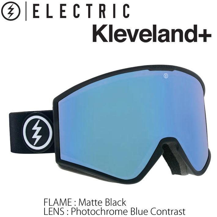 19-20 ELECTRIC ゴーグル エレクトリック KLEVELAND+ クリーブランド プラス PHOTOCHROMIC 調光レンズ