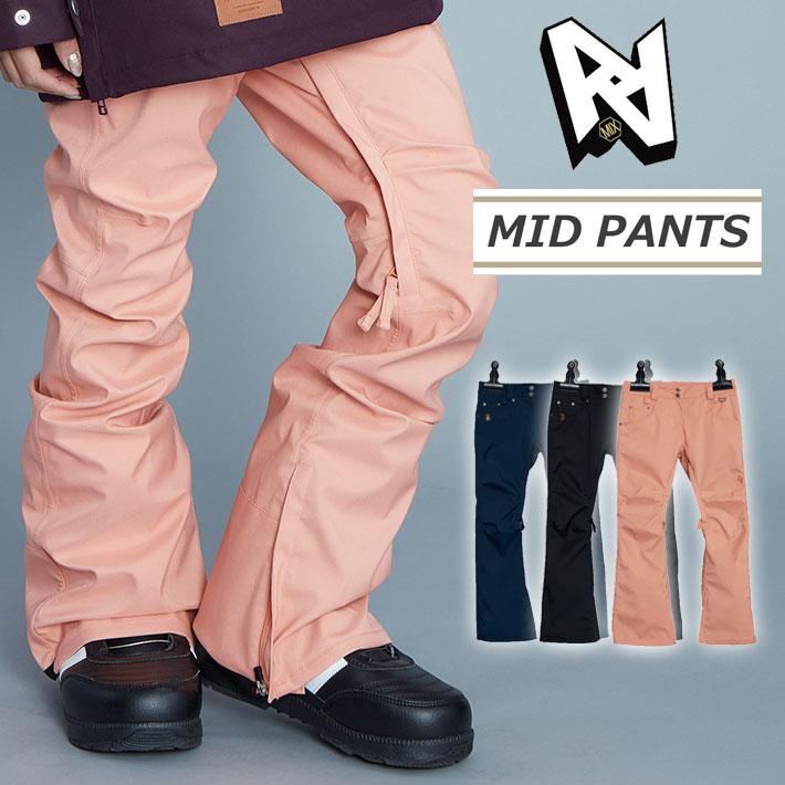 19-20 AA hardwear ダブルエー ウエア レディース 【MID PANTS】 ミッド パンツ パンツ スノーボード SNOW WEAR ウェアー