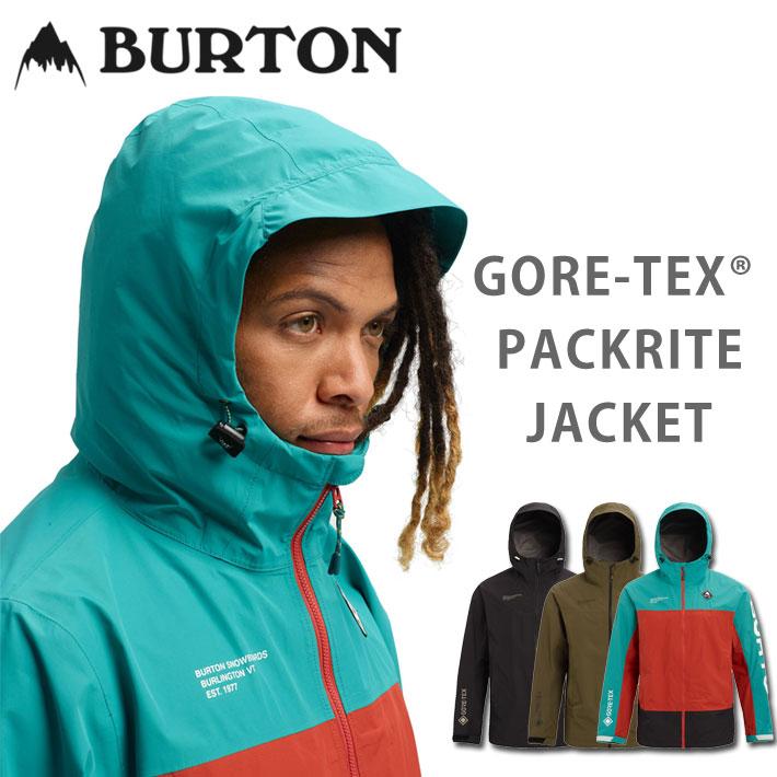 19-20 BURTON バートン スノーボード ウェア PACKRITE JACKET パックライト ジャケット メンズ GORE-TEX ゴアテックス
