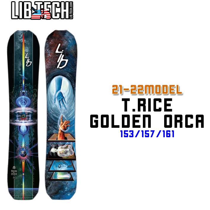 21-22 LIB TECH              T.RICE GOLDEN ORCA ...