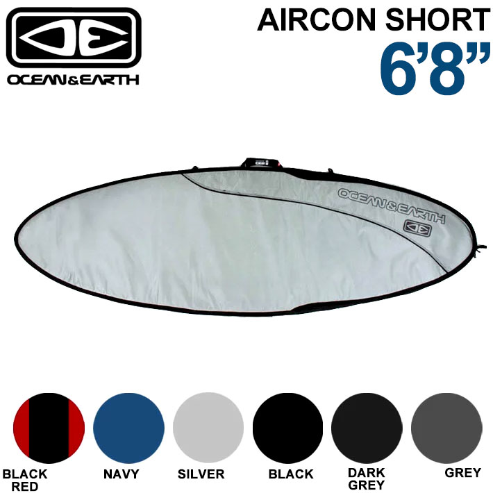 OCEAN&EARTH サーフボードケース AIRCON FISH BOARD 6'8 エアコン フィッシュ フィッシュボード用 オーシャンアンドアース