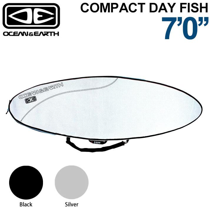 OCEAN&EARTH サーフボードケース COMPACT DAY FISHBOARD 7'0 コンパクトデイ・フィッシュボード フィッシュボード用 オーシャンアンドアース