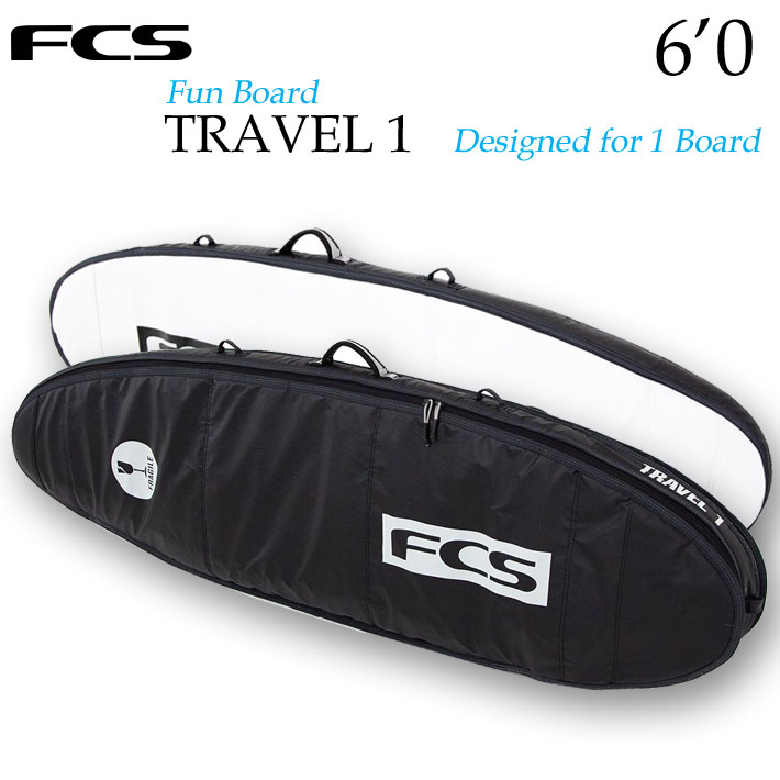 FCS サーフボード ハードケース TRAVEL1 [6'0
