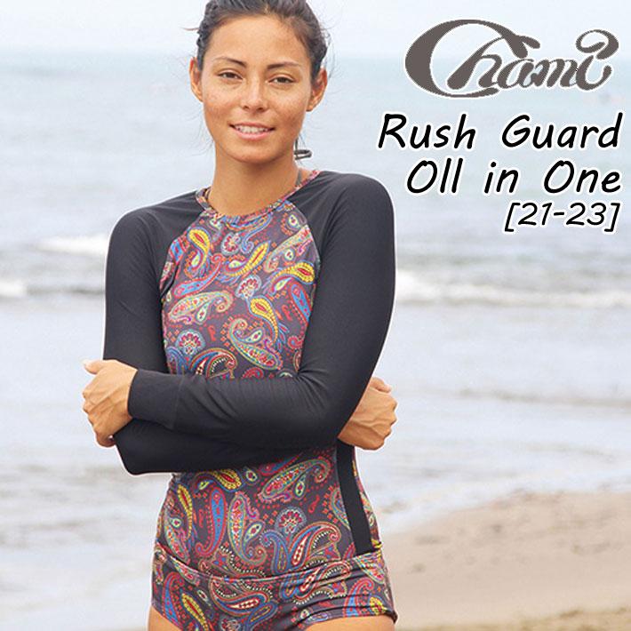 2019 Chami 21-23 チャミー Rach Guard Oll in One ラッシュ パンツ 一体型 水着 ビキニ レディース 【あす楽対応】