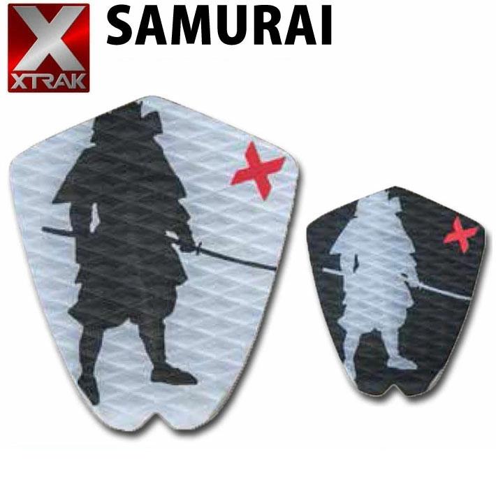 デッキパッド ショートボード用 X-TRAK エックストラック SAMURAI 1ピース デッキパッチ デッキパット サーフィン【あす楽対応】