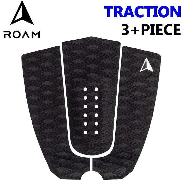 [12/20限定 最大P21倍] ROAM ローム デッキパッド TRACTION 3+PIECE トラクション 3+ピース サーフィン デッキパッチ