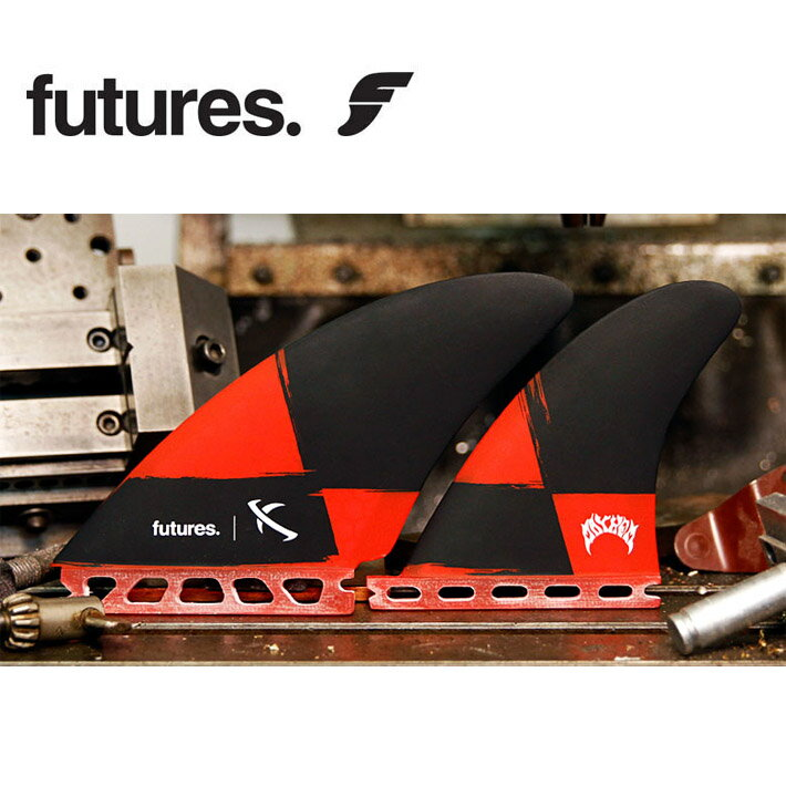FUTURES FINS フューチャーフィン LOST SEAWORTHY QUAD [BLACK RED] 4FIN 4フィン