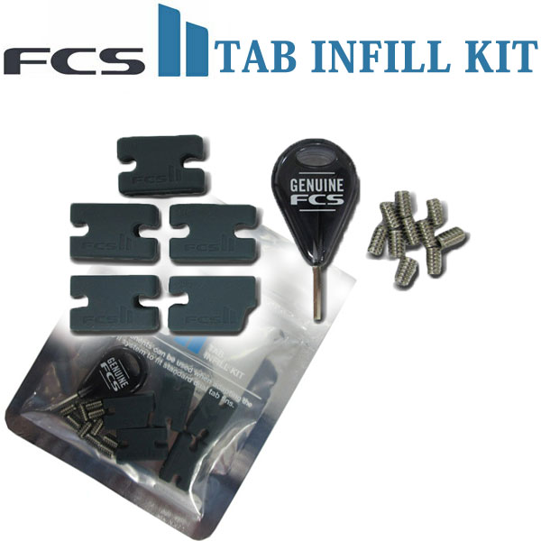 メール便対応 FCSのFINをFCS2のボードに取り付けるためのスペーサーキット FCSII エフシーエス2 FCS2 TAB INFILL KIT Compatibility 大人気! あす楽対応 Kit 取り付けキット フィンキー ねじ フィン スクリュー プラグ用ネジ 卸売り FCS