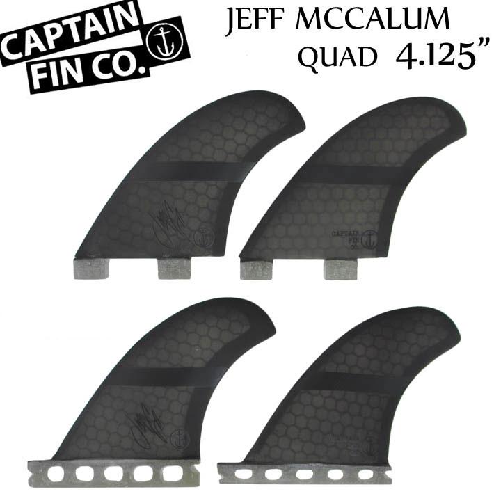 CAPTAIN FIN キャプテンフィン JEFF MCCALLUM 4.125