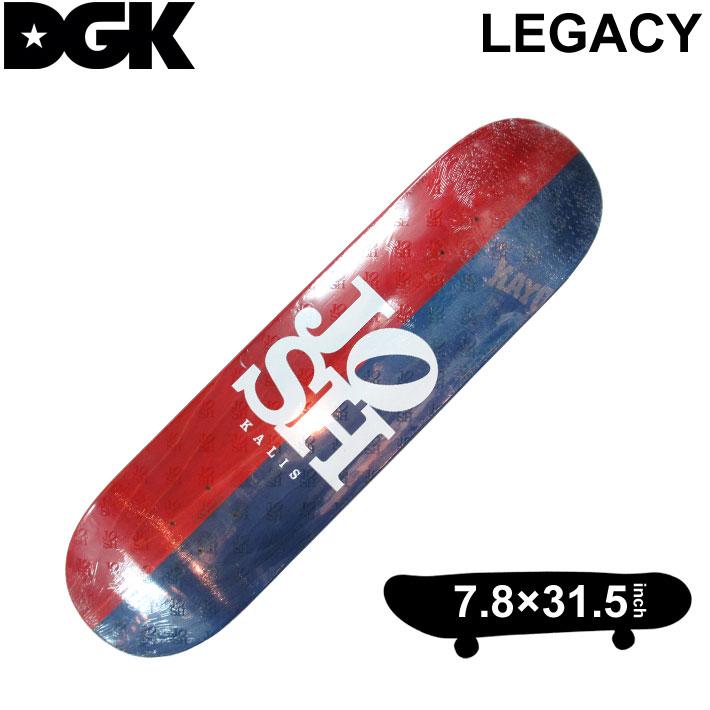DGK DECK ディージーケー デッキ ジョシュ キャリス LEGACY レガシー 7.8インチ スケートボード スケボー D-[2]