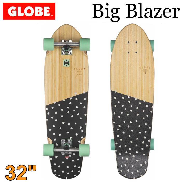 [ラスト1台限り] GLOBE スケートボード グローブ Big Blazer [5] Bamboo Dotted 32インチ コンプリート サーフスケート スケボー サーフィン トレーニング 【あす楽対応】