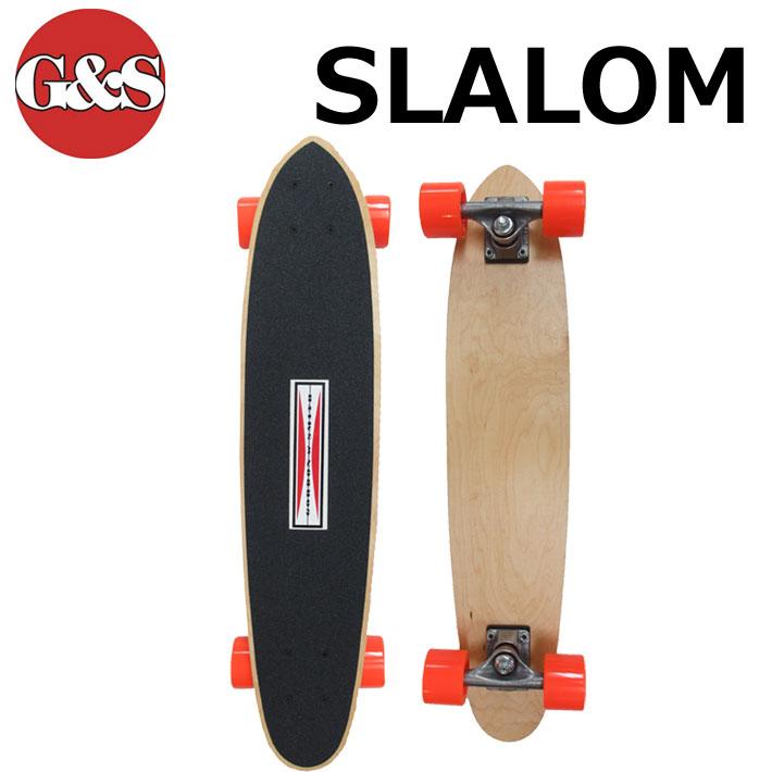 スケボー コンプリート Gordon&Smith ゴードン アンド スミス G&S SLALOM [1] モデル クルージング スケートボード 【あす楽対応】
