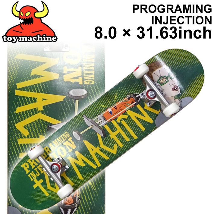 TOY MACHINE トイマシーン スケートボード コンプリート PROGRAMING INJECTION (8.0 × 31.63) [TM-108] 完成品 スケボー SKATE BOARD COMPLETE【あす楽対応】