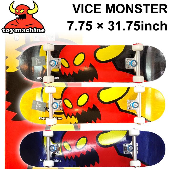 TOY MACHINE トイマシーン スケートボード コンプリート VICE MONSTER (7.75 × 31.75) [TM-104A] [TM-104B] [TM-104C] 完成品 スケボー SKATE BOARD COMPLETE【あす楽対応】