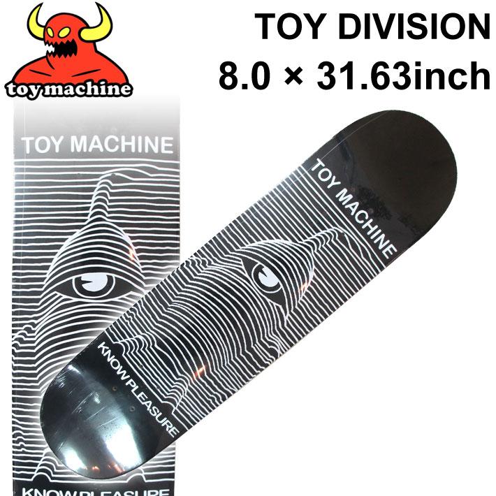 TOY MACHINE トイマシーン スケートボード デッキ TOY DIVISION (8.0 × 31.63) [TM-67] スケートデッキ スケボー パーツ SK8 SKATE BOARD DECK【あす楽対応】
