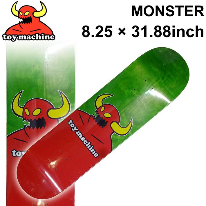 TOY MACHINE トイマシーン スケートボード デッキ MONSTER (8.25 × 31.88) [TM-69A] スケートデッキ スケボー パーツ SK8 SKATE BOARD DECK【あす楽対応】