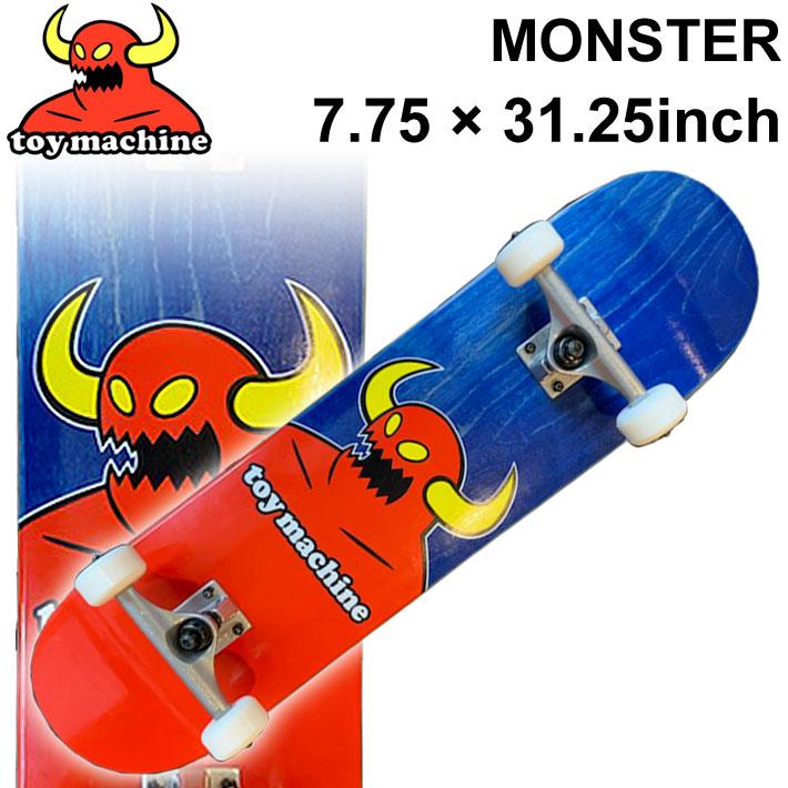 TOY MACHINE トイマシーン スケートボード followsオリジナル コンプリート MONSTER (7.75 × 31.25) [TM-11E] 完成品 スケボー SKATE BOARD COMPLETE【あす楽対応】
