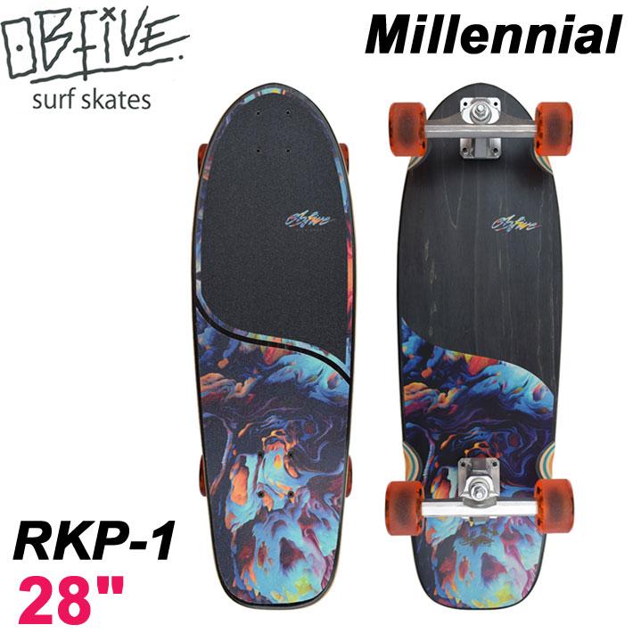 OB Five オービー ファイブ サーフスケート Millennial ミレ二アル RKP-1 28インチ [40] SURF TRUCK スケートボード オブ ファイブ スケボー
