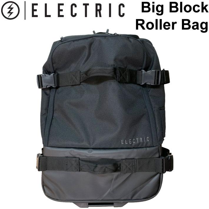 [現品限り特別価格] ELECTRIC エレクトリック バッグ キャリーケース Big Block Roller Bag キャリーバッグ タイヤ ホイール 付き【あす楽対応】
