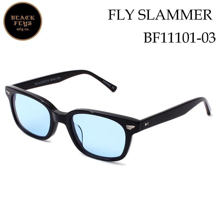 2019 ブラックフライ サングラス [BF-11101-03] FLY SLAMMER フライスラマー BLACK FLYS [BLACK_LIGHT.BLUE] ジャパンフィット