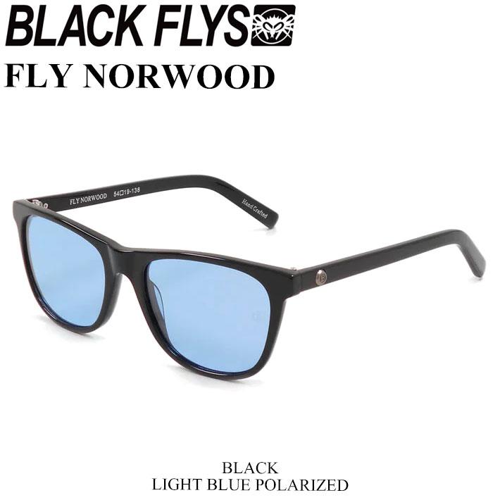ブラックフライ サングラス 2018 BLACK FLYS FLY NORWOOD フライ ノーウッド [BLACK/LIGHT BLUE POL] [BF-1193-04]