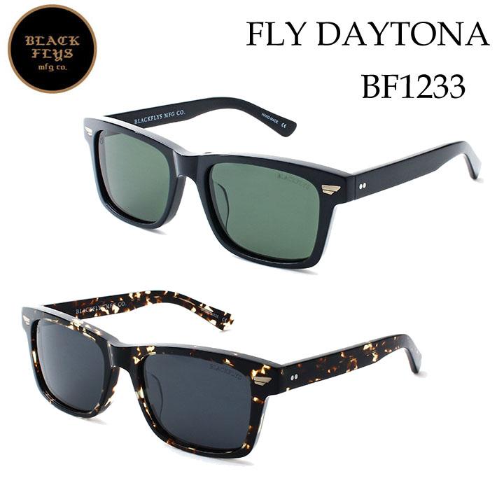 2019 ブラックフライ サングラス [BF-1233] FLY DAYTONA フライ デイトナ BLACK FLYS [BLACK/GREEN_POLARIZED] ジャパンフィット