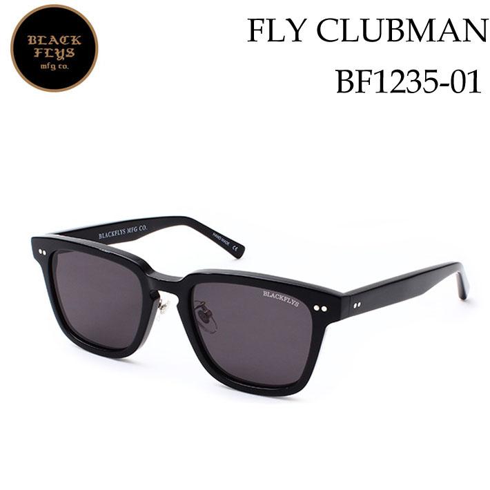 ブラックフライ サングラス [BF-1235-01] FLY CLUBMAN フライ クラブマン BLACK FLYS [BLACK/GREY_POLARIZED] ジャパンフィット