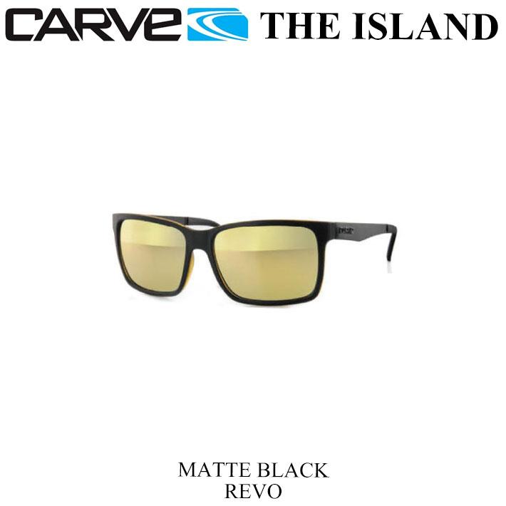 CARVE カーブ サングラス THE ISLAND アイランド Matte BLK REVOミラーレンズ1 2あす楽対応xrsdthQC