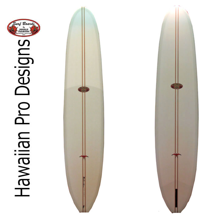 [現品限り特別価格] ロングボード ドナルドタカヤマ サーフボード HPD ハワイアンプロデザイン PIG-LW 9'6 #13025 [条件付き送料無料]