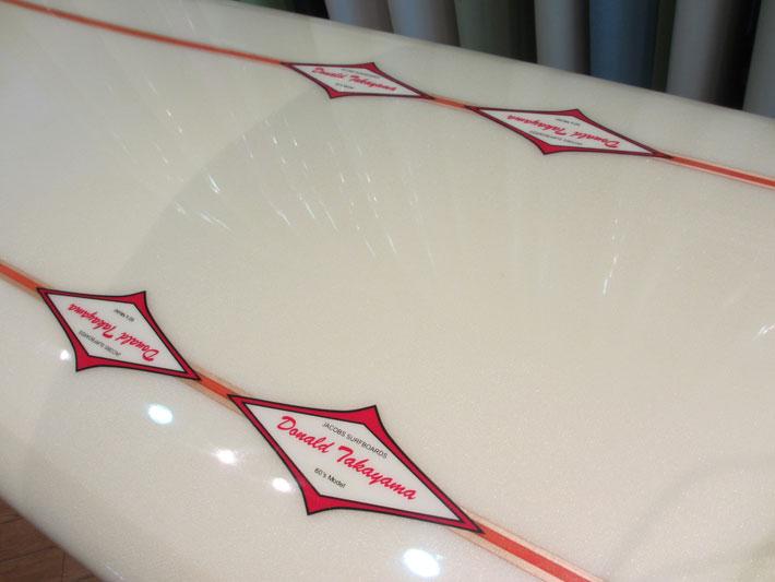 HPDDonald Takayama 서핑 JACOBS (제이콥스) 60 ' S 모델