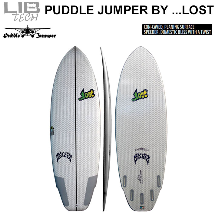 Lib Tech リブテック PUDDLE JUMPER パドルジャンパー LOST ロスト サーフボード ショートボード MATHEM メイヘム Mat Biolos [条件付き送料無料]