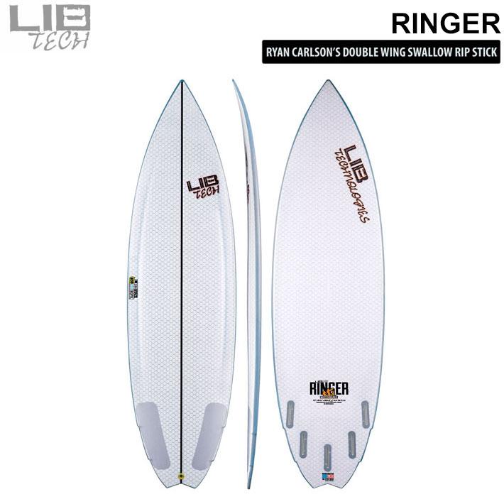 Lib Tech リブテック サーフボード RINGER リンガー 5FIN サーフボード ショートボード EPS 高耐久 [条件付き送料無料]