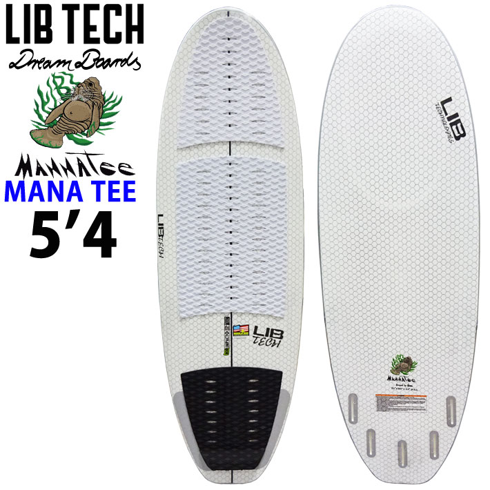[送料無料] 【送料無料】 LIBTECH サーフボード リブテック MANNA TEE マナティー WAKE SURF用 ウェイクサーフィン ボートサーフィン サーフボード 4FIN フィン付 Lib Tech Surfboards 公式大会認定