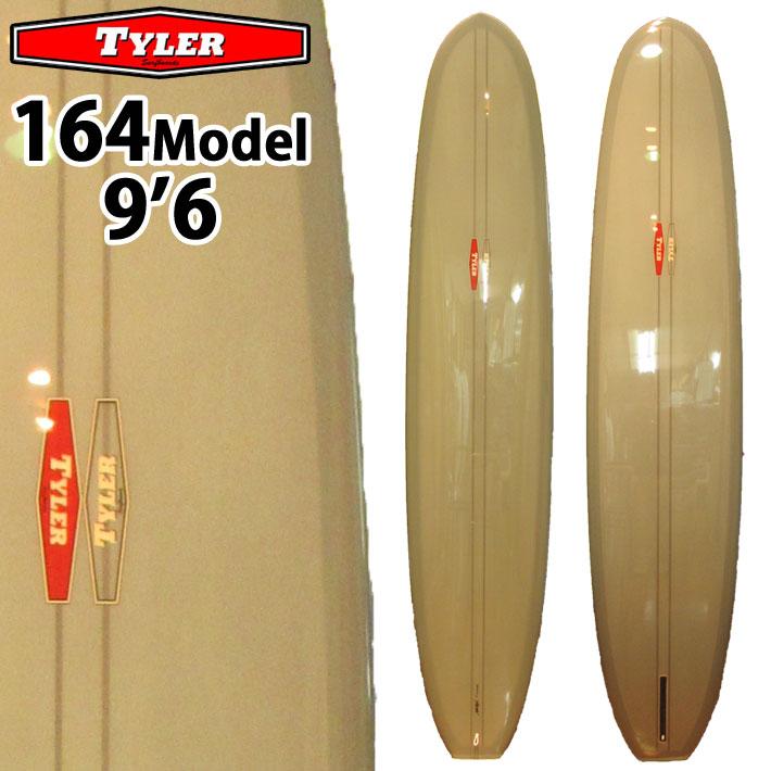 TYLER SURFBOARDS タイラー サーフボード 164 Model 9'6 Grey SINGLE FIN シングルフィン ロングボード [条件付き送料無料]