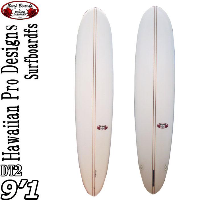 [現品限り特別価格] ロングボード ドナルドタカヤマ サーフボード ディーティーツー ハワイアンプロデザイン DT-2 9'1 [#15459] DT2 [条件付き送料無料]