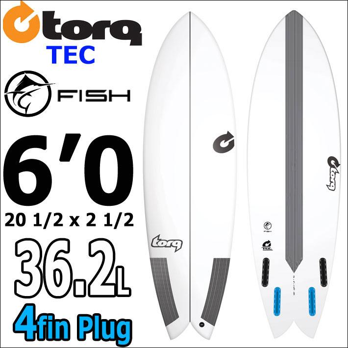 【希望者のみラッピング無料】 TORQ SurfBoard トルク サーフボード TEC FISH TEC 6'0 EPS サーフボード TORQ エポキシ サーフボード [条件付き送料無料], くるちかも culticamo:c0be2276 --- supercanaltv.zonalivresh.dominiotemporario.com