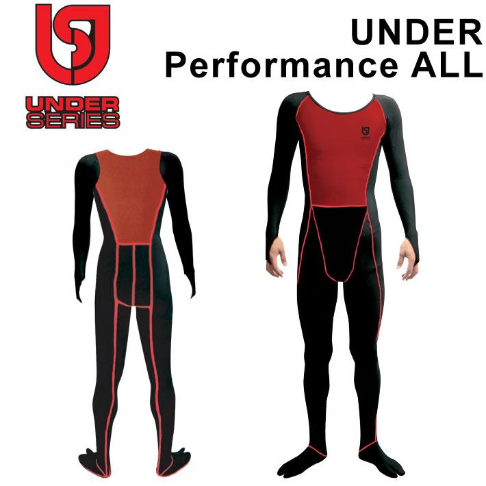 UNDER Performance ALL アンダーパフォーマンスオール 即暖 ウェットスーツ 防寒 インナー サーフィン アンダーオール 全身【あす楽対応】