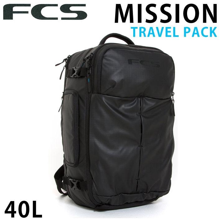 FCS エフシーエス MISSION TRAVEL PACK バックパック 40L リュック 鞄 サーフィン 旅行 トリップ