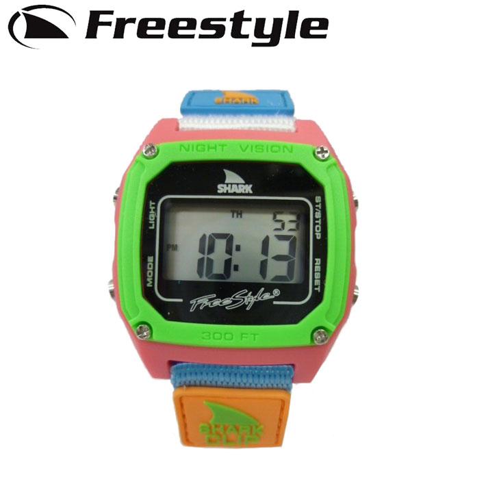FreeStyle フリースタイル 腕時計 [FS84861 / FS10006644] SHARK CLIP シャーク クリップ BLACK NEON デジタル時計【あす楽対応】