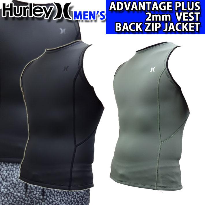 [follow's特別価格] 2020 Hurley ハーレー ウェットスーツ バックジップ ベスト メンズ 2mm [MZVSAD20] ADVANTAGE PLUS BACK ZIP VEST アドバンテージ プラス サーフィン 春夏用 ウエットスーツ