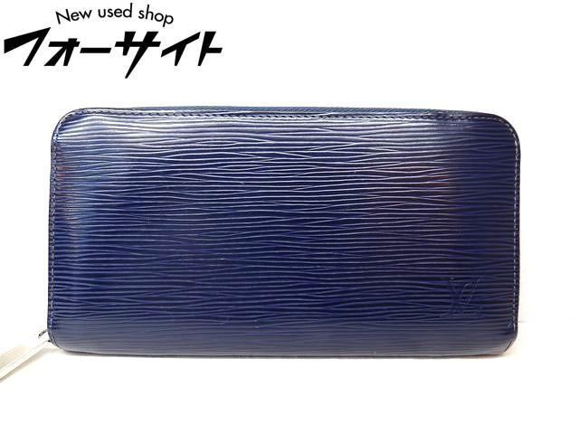 Louis Vuitton ヴィトン■M60307 ジッピーウォレット エピ アンディゴブルー ラウンドファスナー 財布□30C