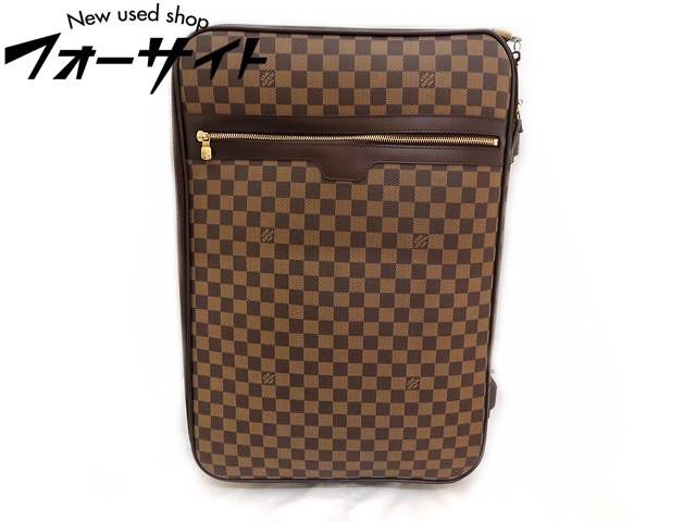 Louis Vuitton ヴィトン■N23294 ペガス55 ダミエ キャリーケース 旅行鞄□30J