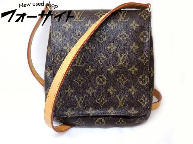 美品 Louis Vuitton ヴィトン■M51387 ミュゼットサルサ ロングショルダー モノグラム ショルダーバッグ□31C
