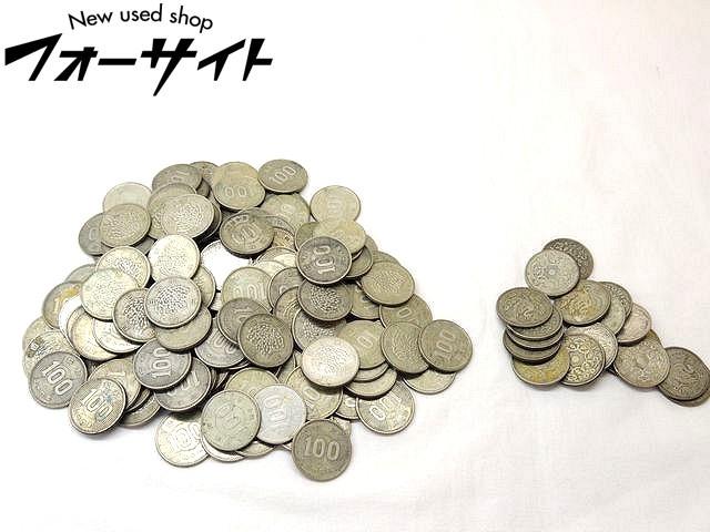 【誠実】 コレクター必見!! 昭和 32~41年 古銭?鳳凰 100円 銀貨 18枚 稲 100円銀貨 131枚 計149枚 セット□1F, ごちそうマルシェ 3122fb5e